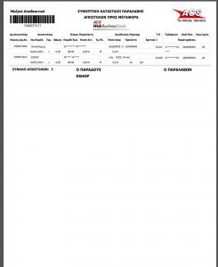 ACS Print Closed List
